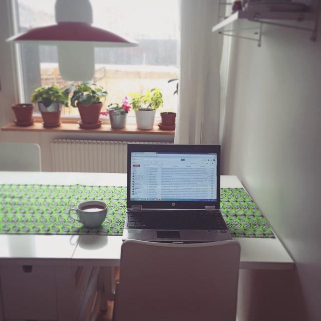 Bild från dagens kontor